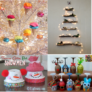 17 Cheap and Wonderful DIY Christmas Decorations