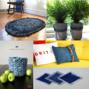 recycle jeans | recycle jeans ideas | recycle jeans projects | recycle jeans diy 21 Amazing DIY Recycle Jean Ideas You Must Try
