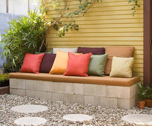 20 Beautiful and cheap DIY garden furniture ideas