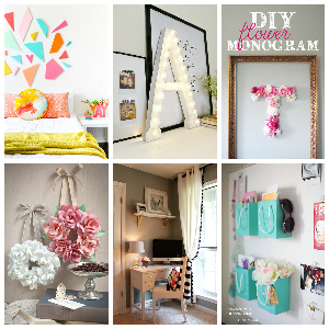 DIY bedroom décor