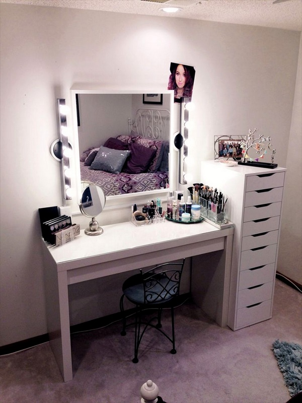 Diy Vanity Table Ideas Makeup