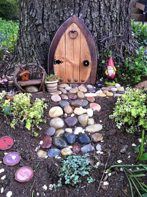 Easy Fairy Door Ideas