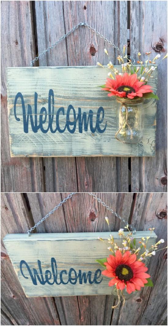 DIY Spring Porch Decorating