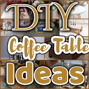 Homemade DIY Coffee Table Plans