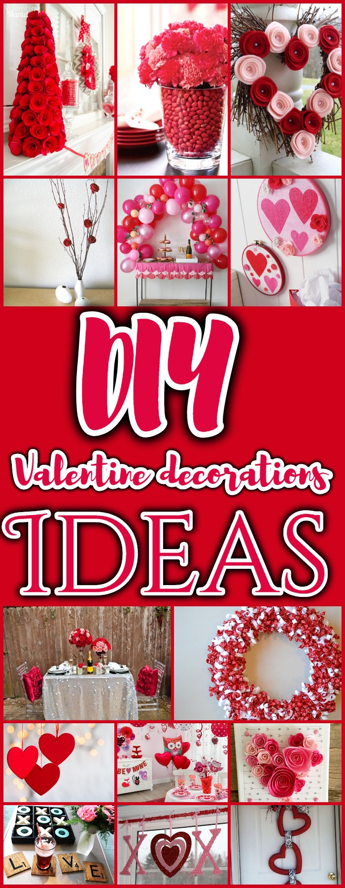 DIY Valentine decorations