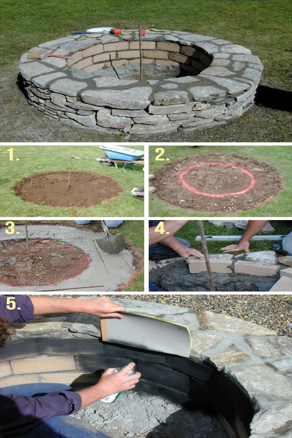 DIY Fire Pit Ideas to Make Your Backyard Beautiful • DIY ... on Backyard Fire Pit Ideas Diy id=91151