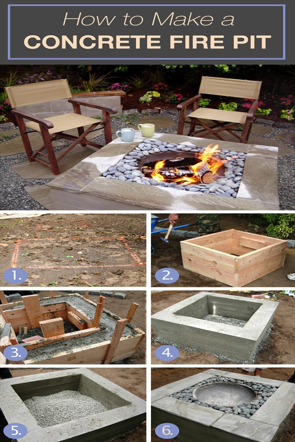 Easy and Functional DIY Fire pit Ideas