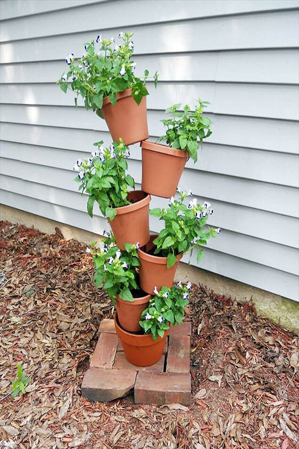 DIY Flower Towers