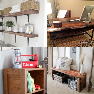 DIY Rustic Furniture Ideas That Will Make Your Home More Creative