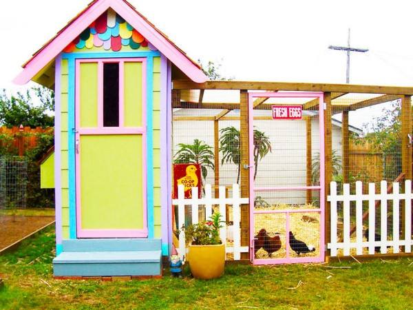 Amazing DIY Chicken Coop Ideas