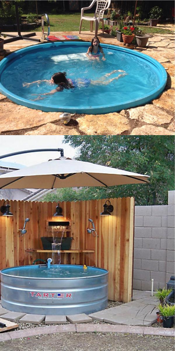 DIY Stock Tank Pool Ideas