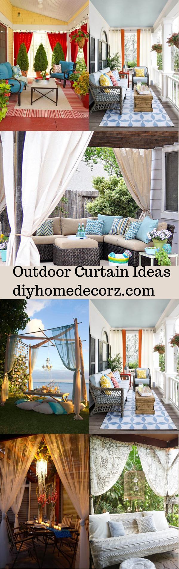 Outdoor Curtain Ideas