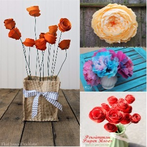 DIY Paper Flowers Ideas That Everyone Can Make Easily