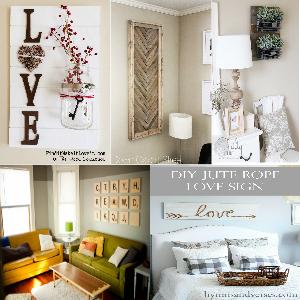 DIY Rustic Wall Decoration Ideas