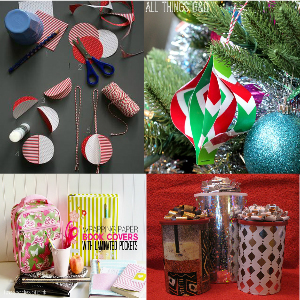 Wrapping Paper Crafts For Home Decor
