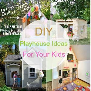 DIY Playhouse Ideas