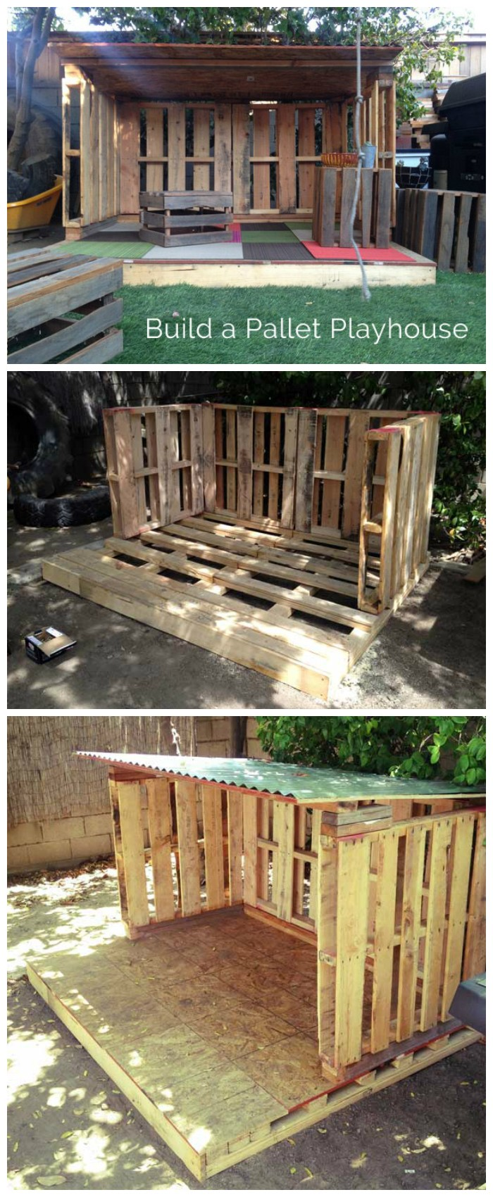 Our Pallet Playhouse