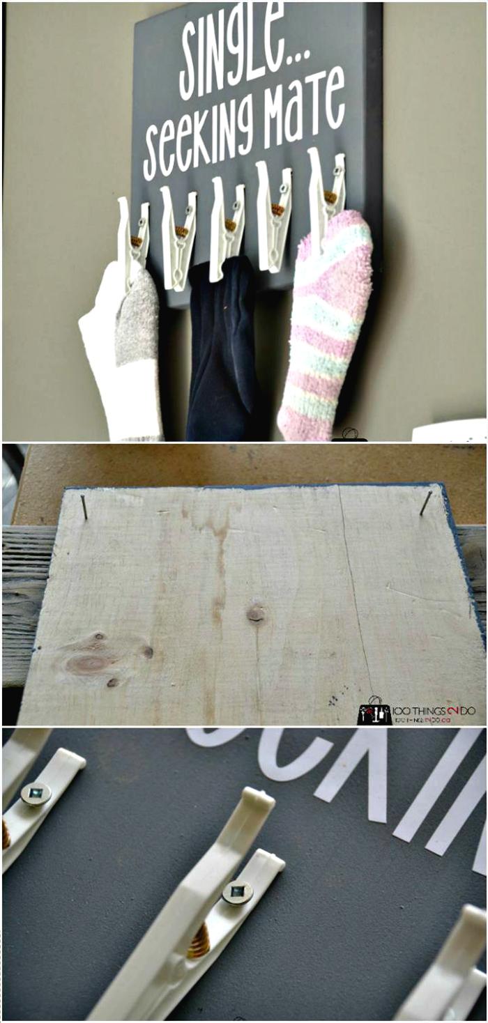 Missing Socks Board