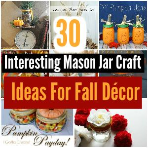 Mason jar craft ideas for fall décor - mason jar craft ideas | mason jar craft ideas diy | mason jar craft ideas christmas | mason jar craft ideas decor | mason jar craft ideas for kids