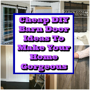 Cheap DIY Barn Door Ideas To Make Your Home Gorgeous