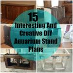 15 Cheap DIY Aquarium Stand Plans
