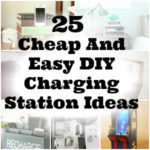 25 DIY Charging Station Ideas Cheap And Easy