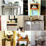 DIY Entry Table Ideas To Make Your Entryway Perfect