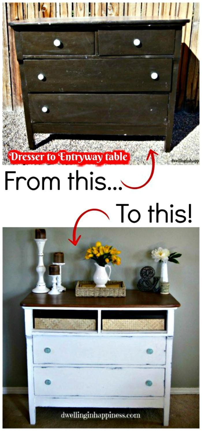 Old fashioned Entryway Table