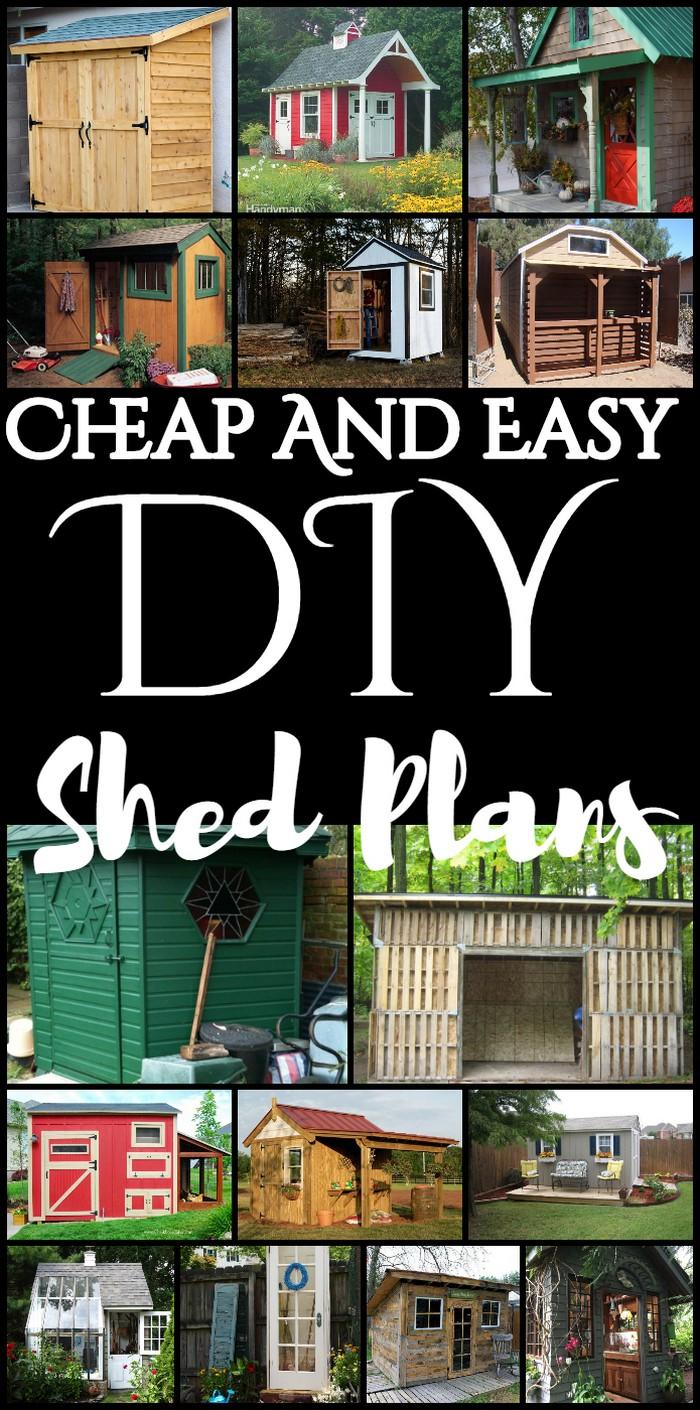 DIY Shed Plans
