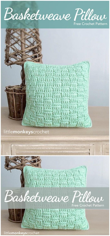 Crocheted Throw Pillows