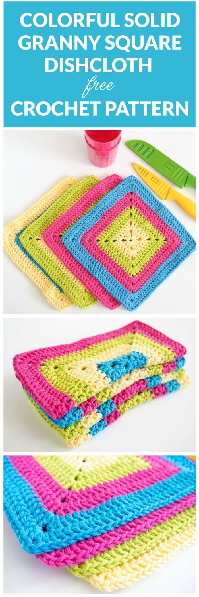 Granny Square Dishcloths