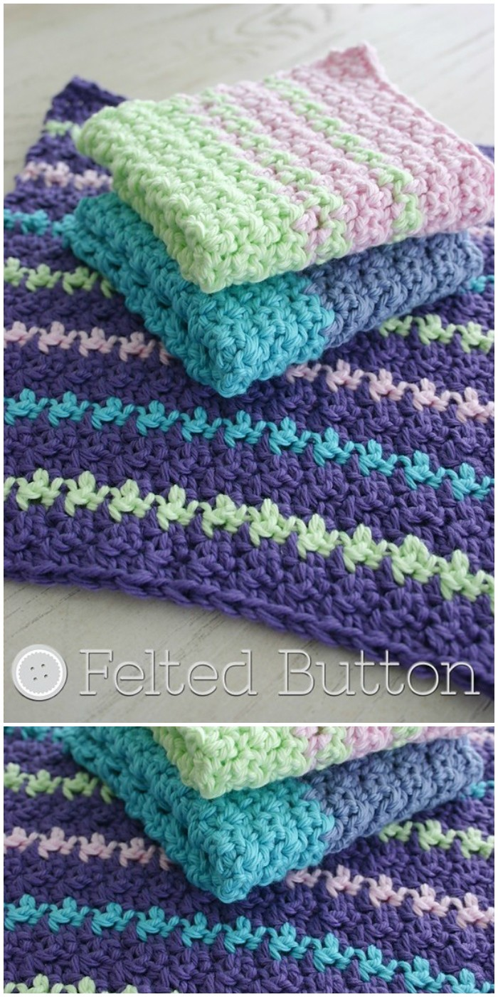 Mama's Dishcloth Crochet Pattern