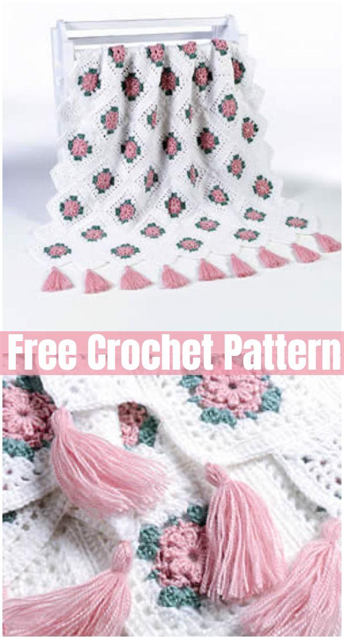 Afghan Free Crochet Blanket