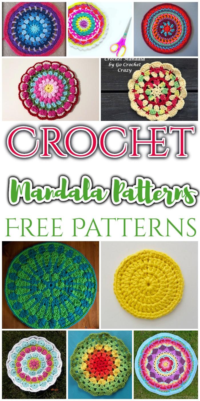 15crochet Mandala Patterns Free Patterns Diy Home Decor