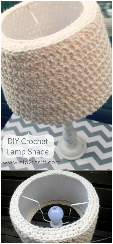 Crochet Simple Lampshade