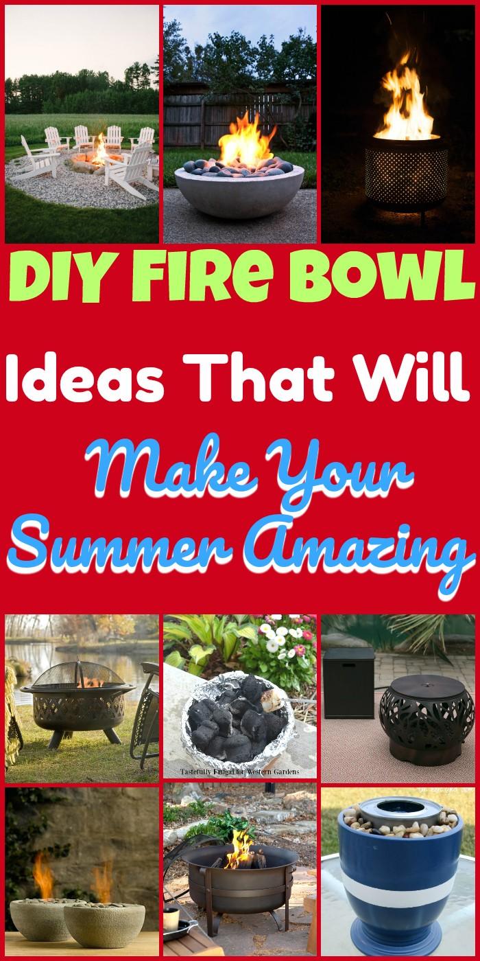 DIY Fire Bowl Ideas