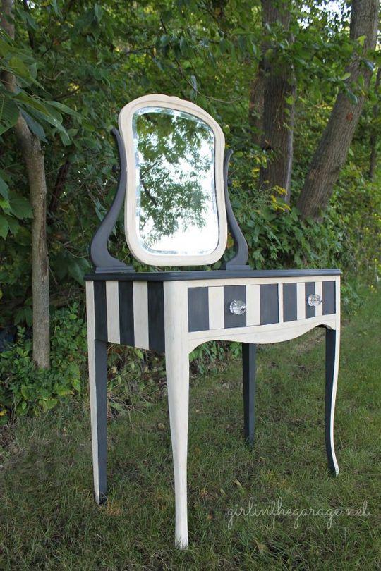 DIY Vanity Table Makeover Ideas