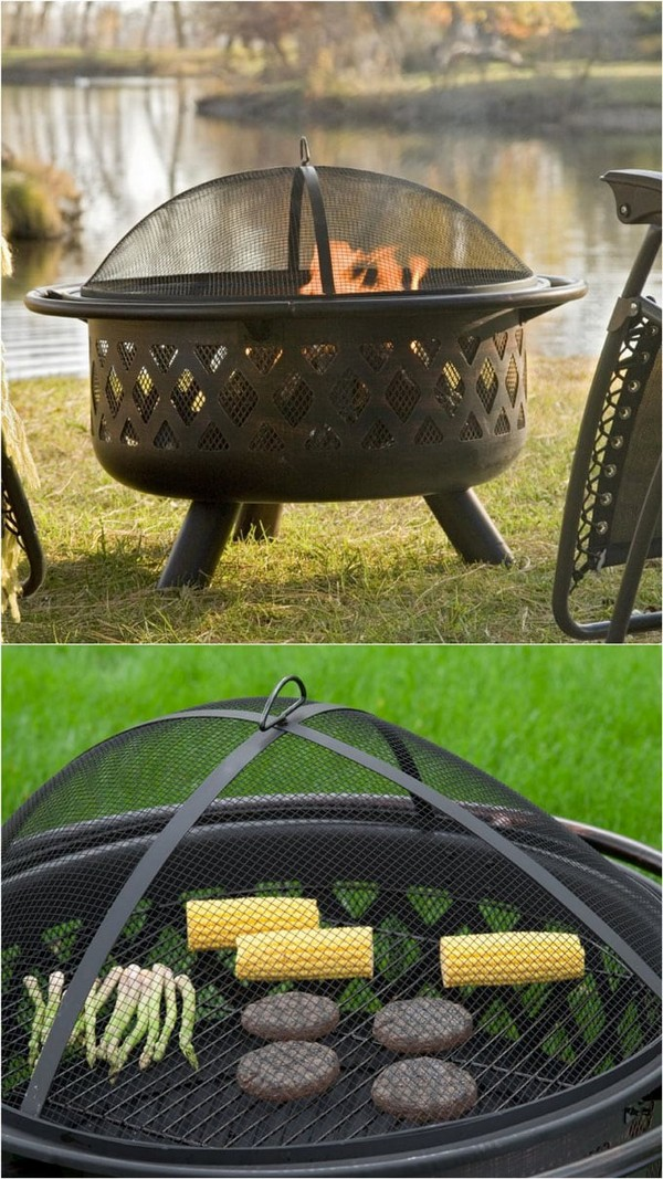 Grill DIY Fire Bowl