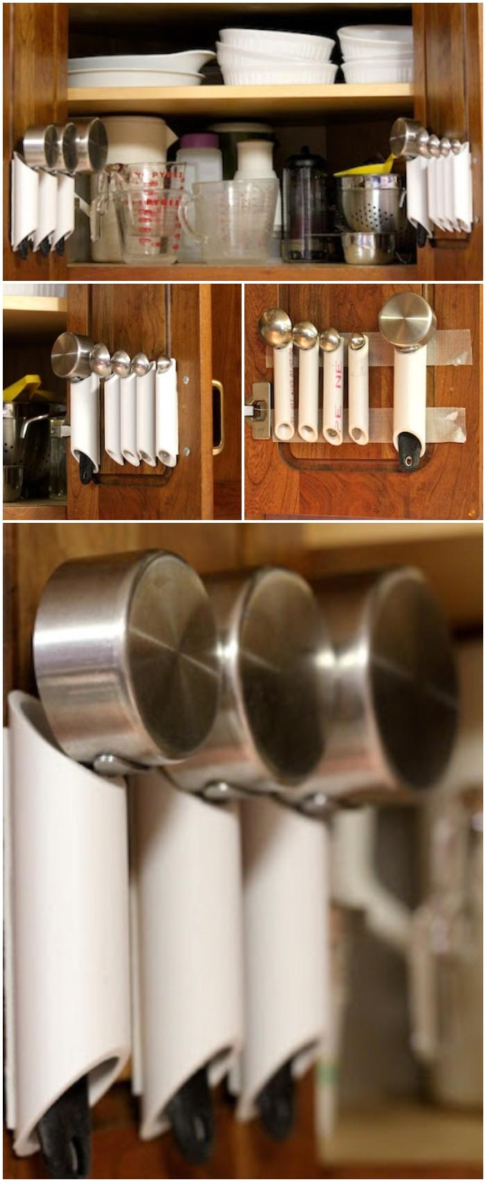 Pvc Pipe Kitchen Tool Organizer