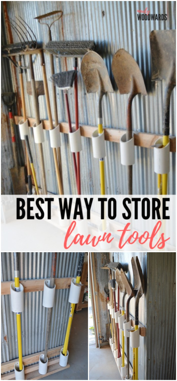 Pvc Pipe Tool Storage