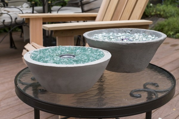 Tabletop DIY Fire Bowl