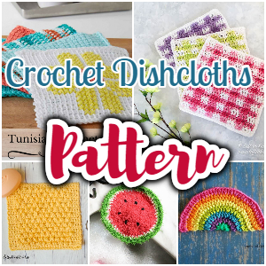 Crochet Dishcloths Pattern