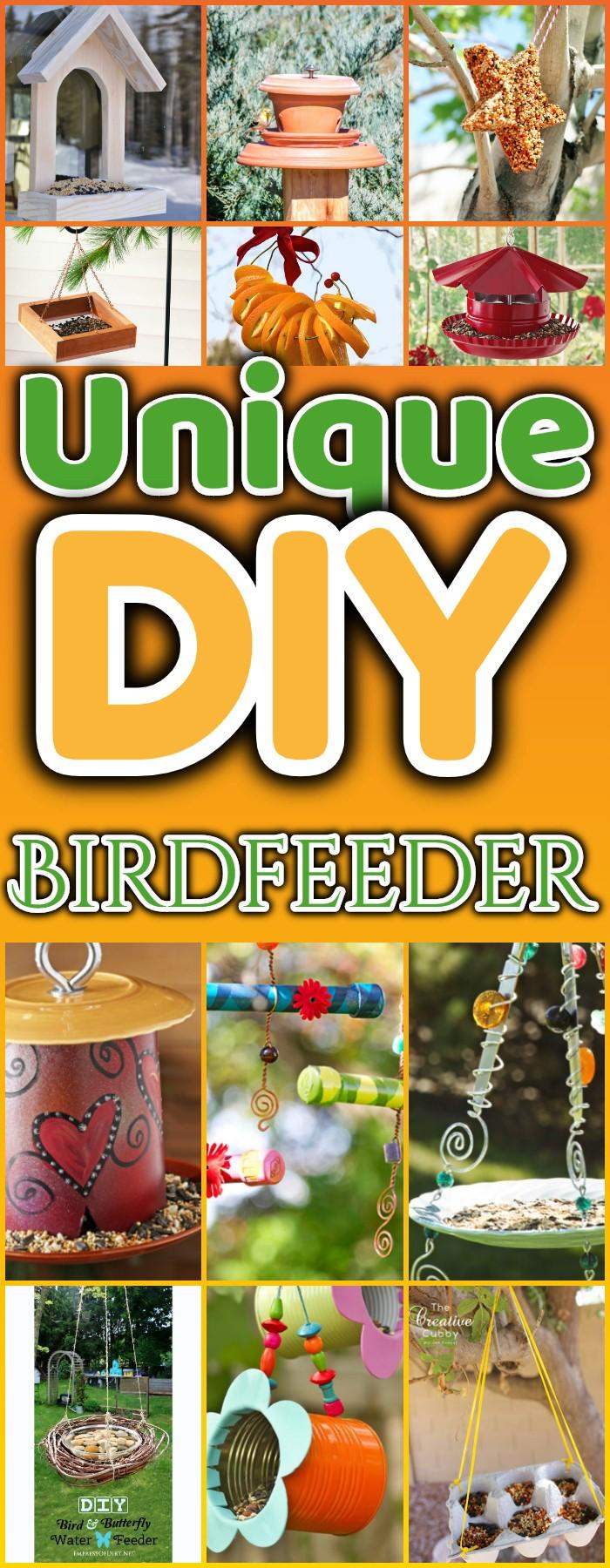 DIY Birdfeeder