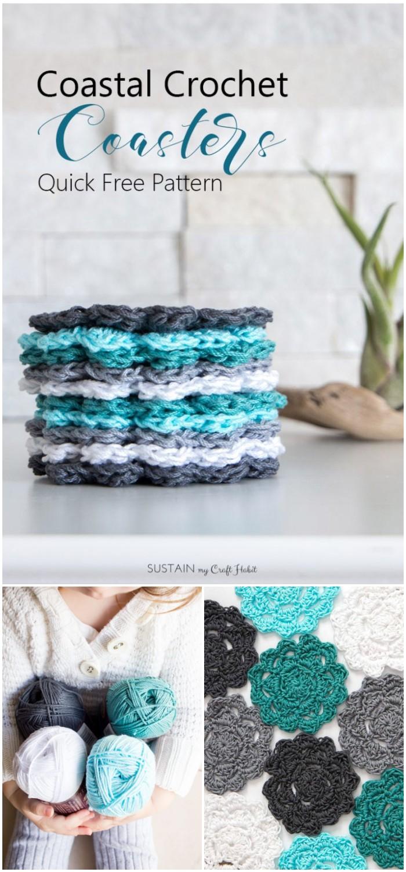 Crochet Coaster Pattern