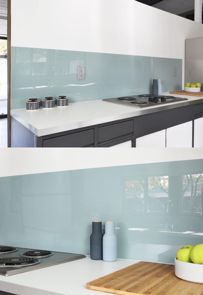 Acrylic Backsplash Kitchen
