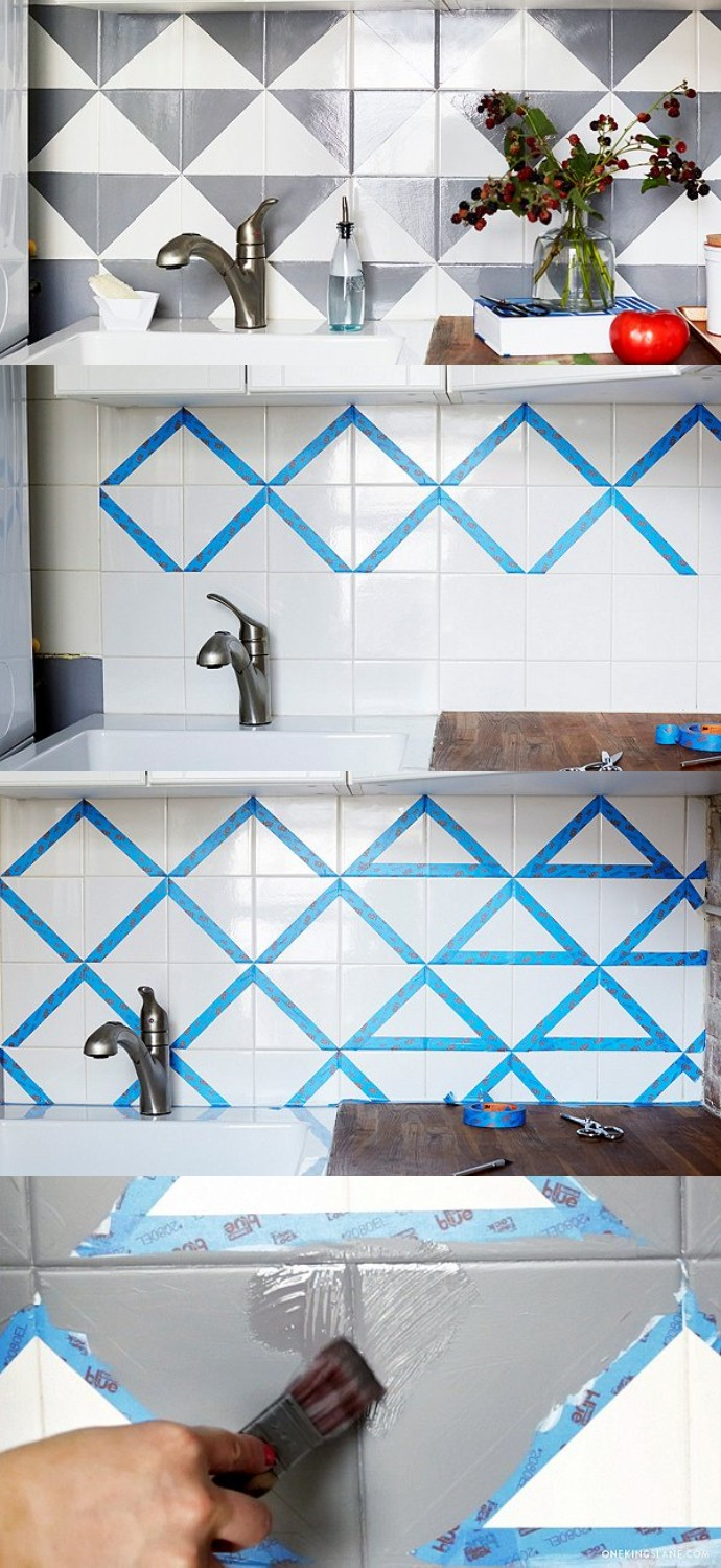 How To Revamp Your Tired Tile Backsplash