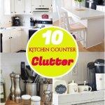 10 Best Kitchen Countertop Declutter Ideas