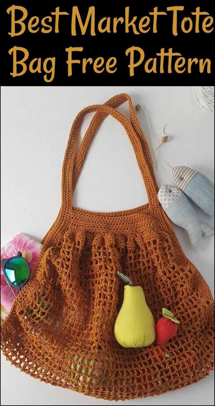 Best Market Tote Bag Free Pattern