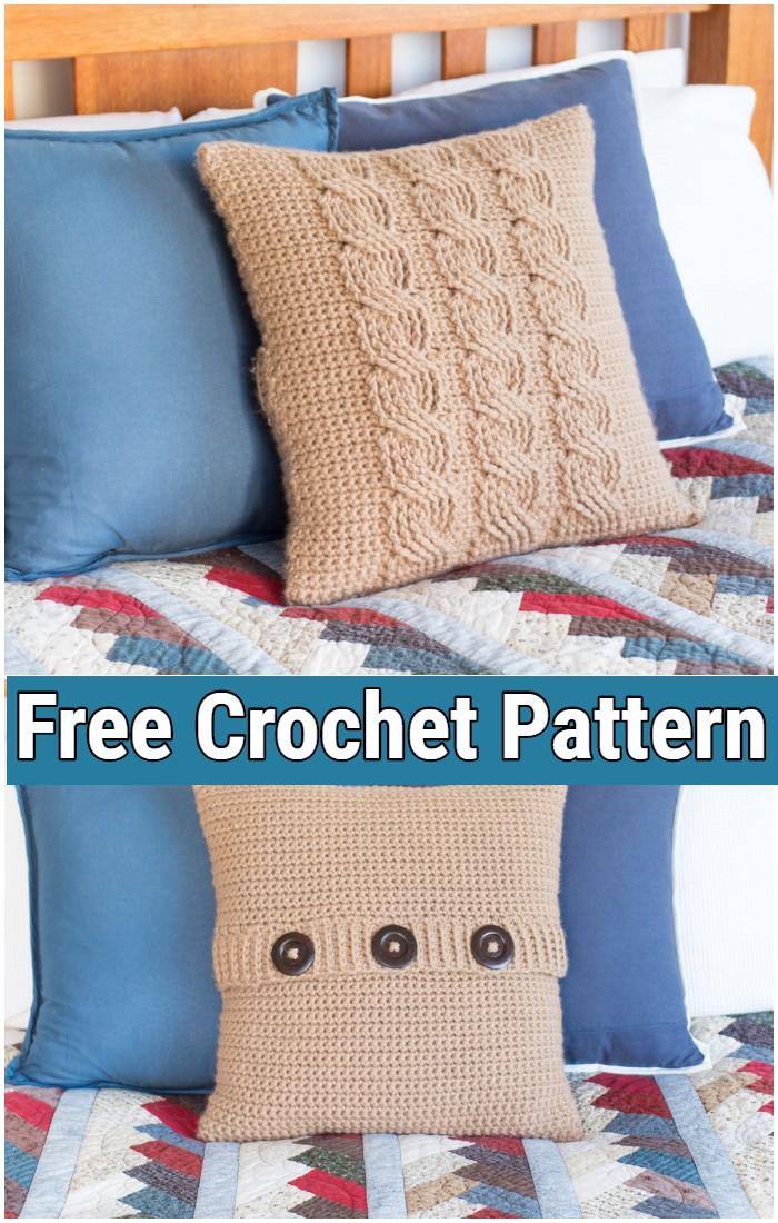Crochet Pillow Pattern