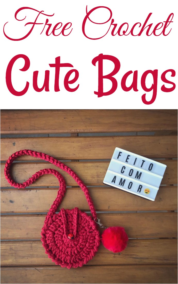 Free Crochet Cute Bags